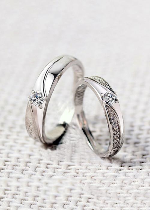 Nhẫn đôi bạc cao cấp ND044 Small - 18883195 , 7401839771889 , 62_30759385 , 700000 , Nhan-doi-bac-cao-cap-ND044-Small-62_30759385 , tiki.vn , Nhẫn đôi bạc cao cấp ND044 Small