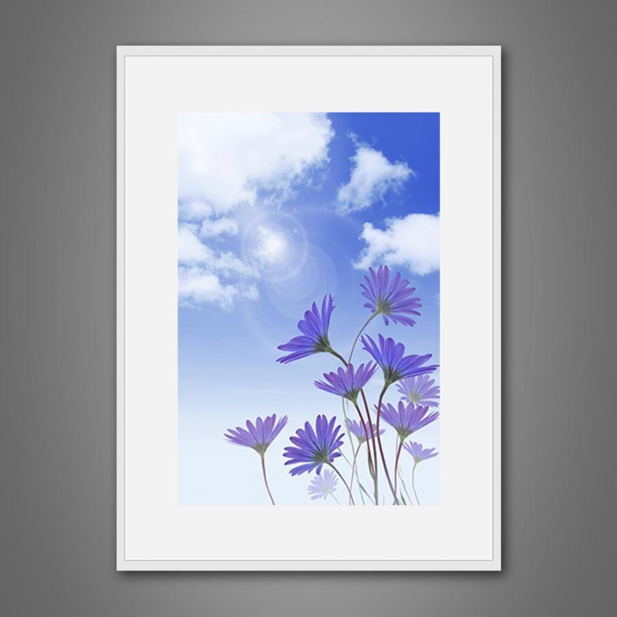 Khung tranh Canvas đơn hoa lá 20