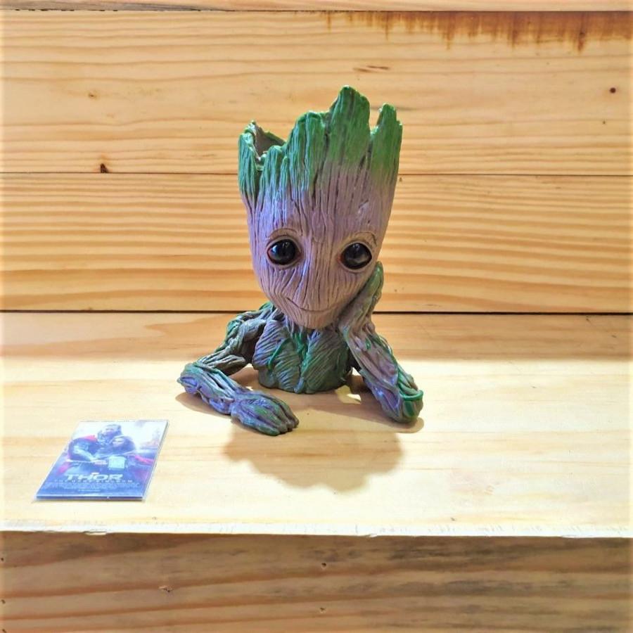 Ống cắm bút mô hình người cây (tặng kèm 01 magnet ngẫu nhiên)