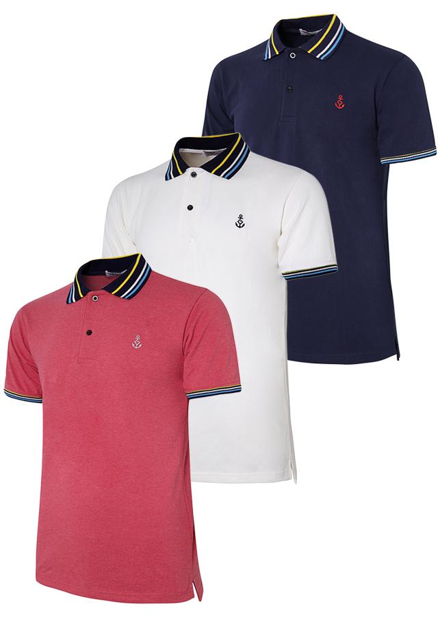 Bộ 3 áo thun nam cổ bẻ ngắn tay phối bo cổ sọc dệt đặc biệt PigoFashion TPAHT15 màu đốm đỏ trắng xanh đen - 2280126 , 6581777071096 , 62_14611956 , 540000 , Bo-3-ao-thun-nam-co-be-ngan-tay-phoi-bo-co-soc-det-dac-biet-PigoFashion-TPAHT15-mau-dom-do-trang-xanh-den-62_14611956 , tiki.vn , Bộ 3 áo thun nam cổ bẻ ngắn tay phối bo cổ sọc dệt đặc biệt PigoFashion