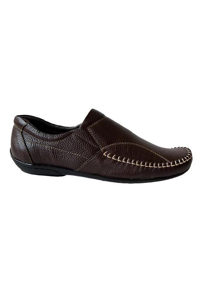 Giày Mọi Nam Da Bò Cao Cấp  - TC0021 - Nâu