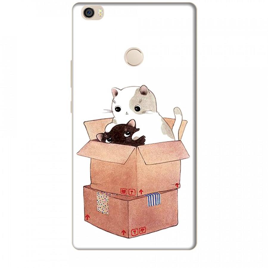 Ốp lưng dành cho điện thoại XIAOMI MI MAX Mèo Con Dễ Thương