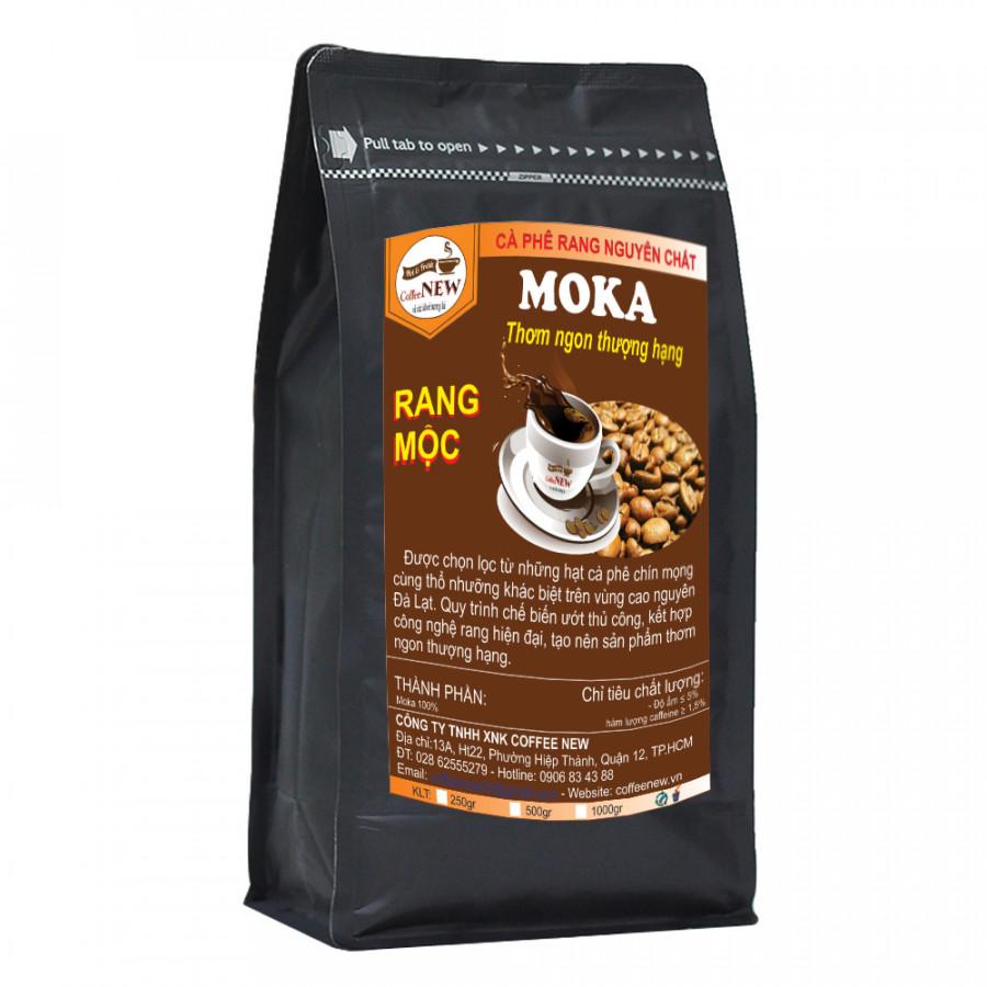 Cà Phê MoKa Rang Môc Nguyên Chất -(Cầu Đất) Hương Mạnh Mẽ - Gói 500g - Coffee New - 1467278 , 6161082201274 , 62_14346636 , 210000 , Ca-Phe-MoKa-Rang-Moc-Nguyen-Chat-Cau-Dat-Huong-Manh-Me-Goi-500g-Coffee-New-62_14346636 , tiki.vn , Cà Phê MoKa Rang Môc Nguyên Chất -(Cầu Đất) Hương Mạnh Mẽ - Gói 500g - Coffee New