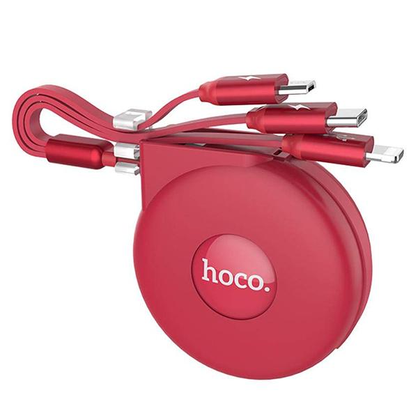 Cáp Rút Hoco U50 - 3 Đầu - Chính Hãng (PVN200, PVN201)