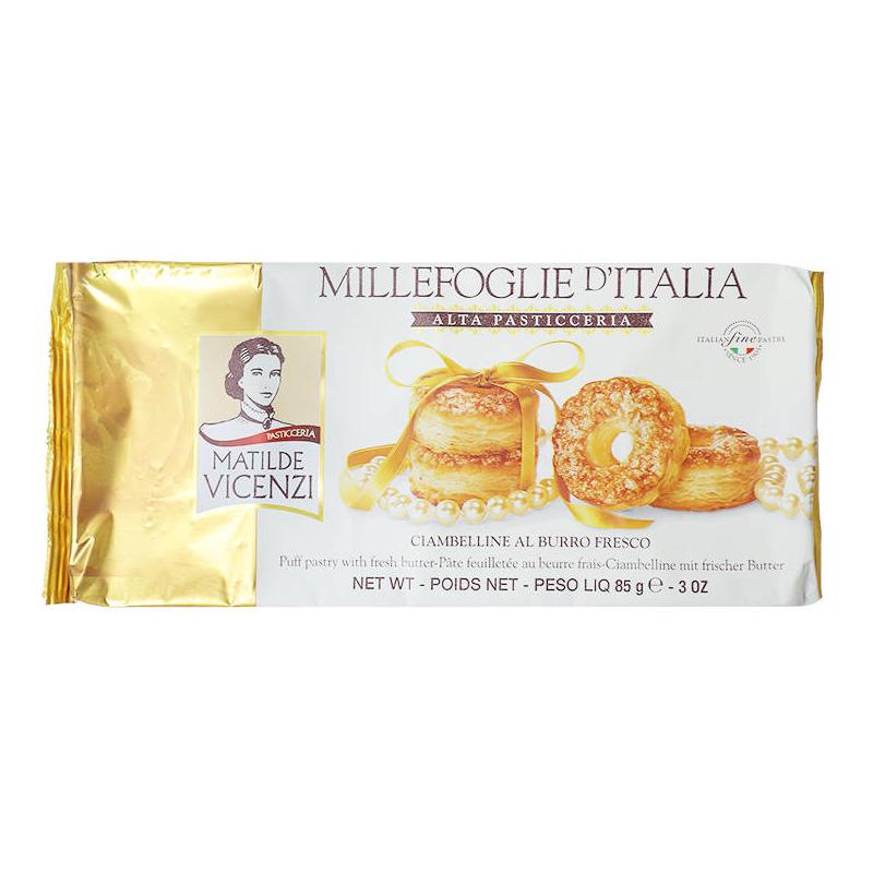 Bánh puff pastry vị bơ tươi Millefoglie D