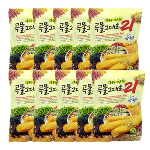 Combo 10 gói bánh ngũ cốc 21 vị Hàn Quốc (80g/gói) - 1065790 , 6591666020937 , 62_3629251 , 590000 , Combo-10-goi-banh-ngu-coc-21-vi-Han-Quoc-80g-goi-62_3629251 , tiki.vn , Combo 10 gói bánh ngũ cốc 21 vị Hàn Quốc (80g/gói)