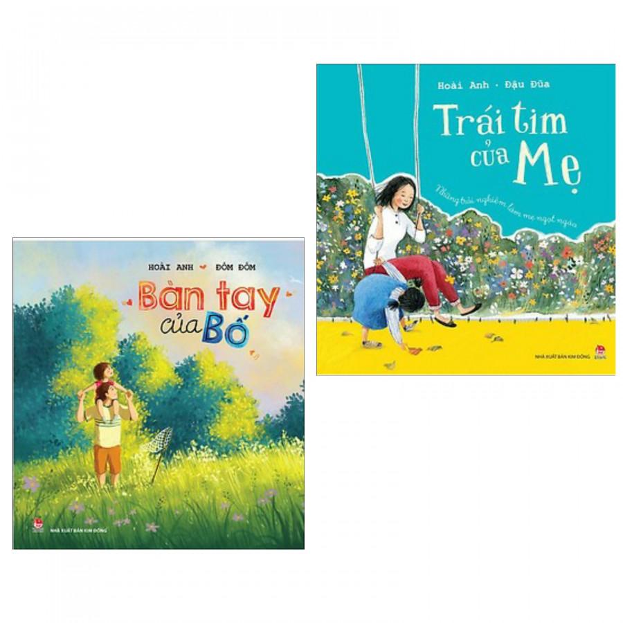 Combo sách những trải nghiệm làm cha mẹ : Bàn tay của bố + Trái tim của mẹ - Combo sách giúp con có cuộc sống hạnh...
