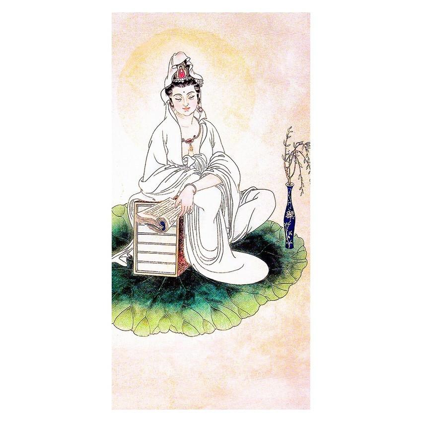 Tranh Phật Giáo Quan Thế Âm Bồ Tát 2340 (30 x 60 cm) - 1300450 , 3420907099704 , 62_6182479 , 239000 , Tranh-Phat-Giao-Quan-The-Am-Bo-Tat-2340-30-x-60-cm-62_6182479 , tiki.vn , Tranh Phật Giáo Quan Thế Âm Bồ Tát 2340 (30 x 60 cm)