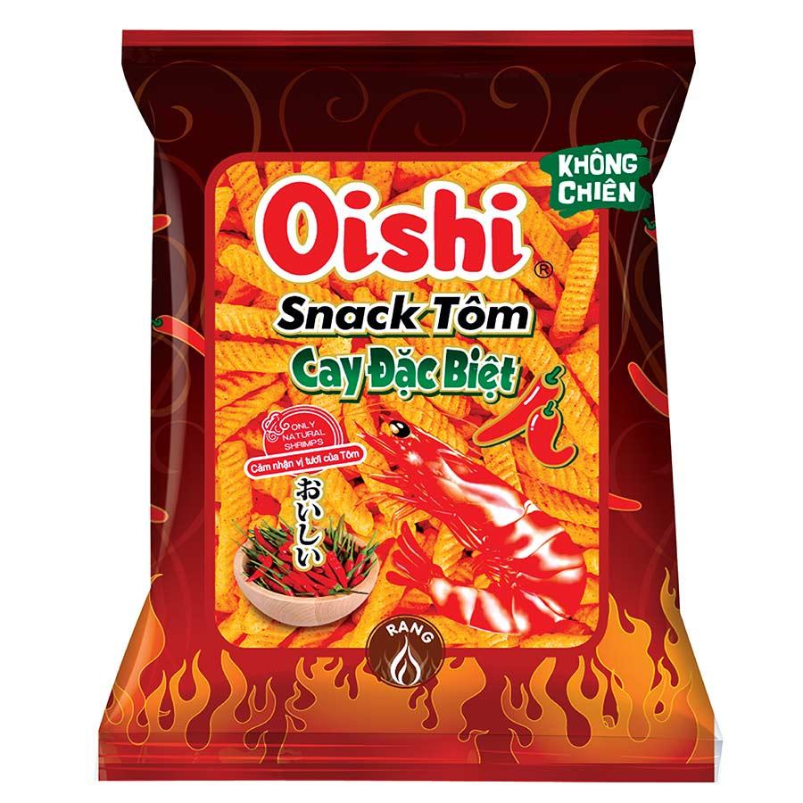 Gói Snack Oishi Tôm Cay Đặc Biệt (45g/Gói) - 1810039 , 3637279088940 , 62_13249201 , 6000 , Goi-Snack-Oishi-Tom-Cay-Dac-Biet-45g-Goi-62_13249201 , tiki.vn , Gói Snack Oishi Tôm Cay Đặc Biệt (45g/Gói)