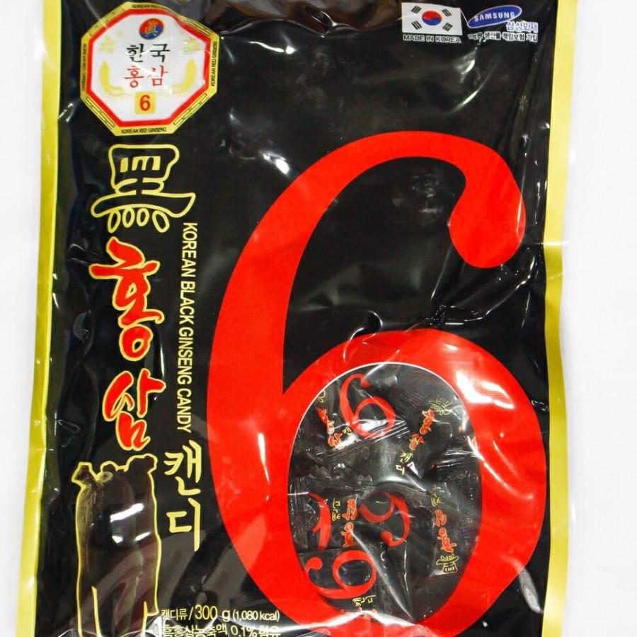 Lô 5 kẹo Hắc Sâm Hàn Quốc 300gr