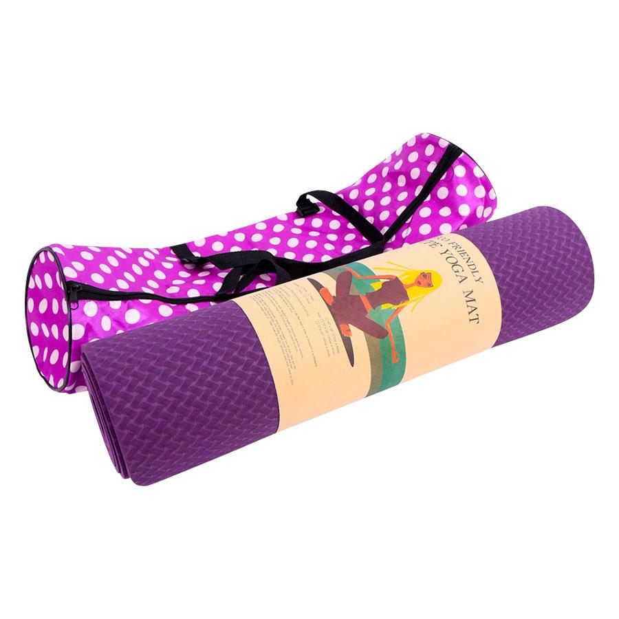 Thảm Yoga 2 Mặt Cao Cấp Đại Việt Sport (183 x 61 x 0.6 cm) - Giao Màu Ngẫu Nhiên