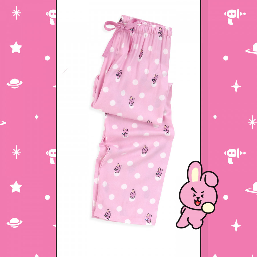BT21 x HUNT Woven Pajama Pants Cooky HIYF83801T - 2325156 , 5230702033593 , 62_14994115 , 659000 , BT21-x-HUNT-Woven-Pajama-Pants-Cooky-HIYF83801T-62_14994115 , tiki.vn , BT21 x HUNT Woven Pajama Pants Cooky HIYF83801T