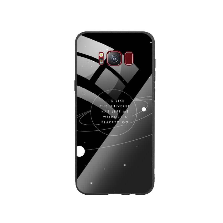 Ốp Lưng Kính Cường Lực cho điện thoại Samsung Galaxy S8 - Alone 02