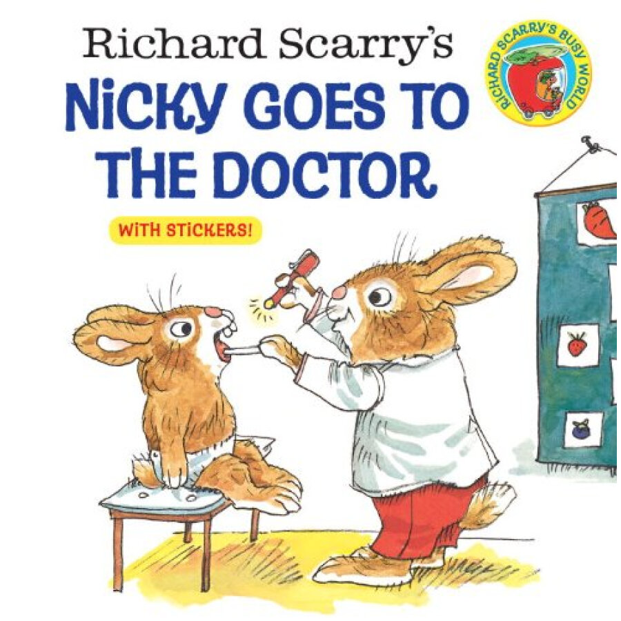 Nicky Goes to the Doctor (Golden look-look books)