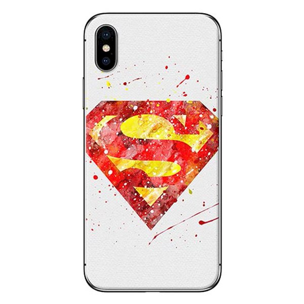 Ốp Lưng Dành Cho iPhone X - Mẫu  Superman