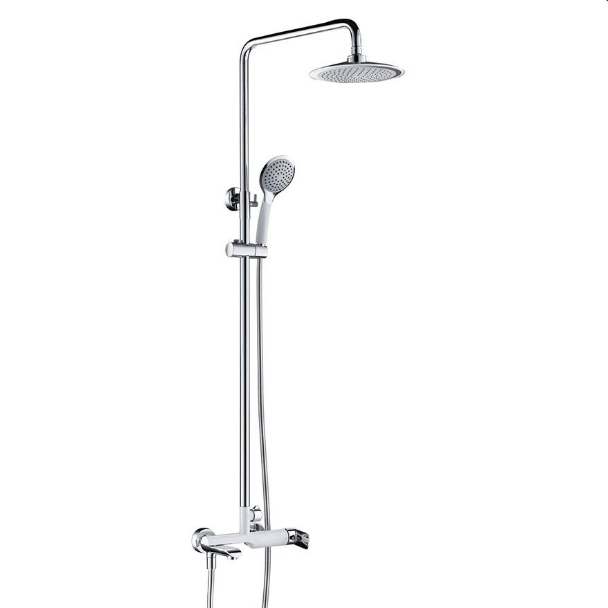 Bộ sen cây tắm đứng nóng lạnh Eurolife EL-S905 (Trắng bạc)