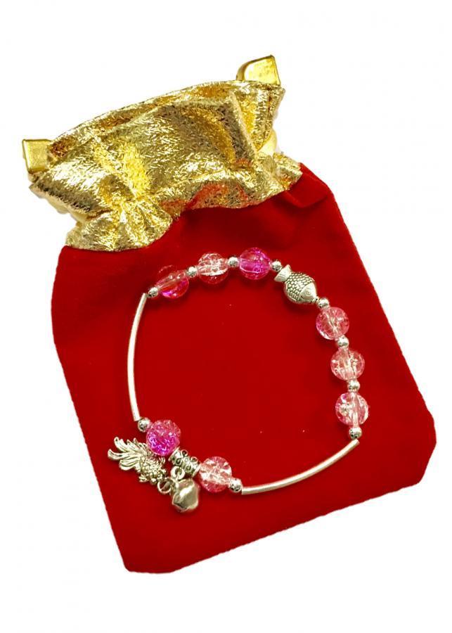 Lắc tay nữ hạt châu phối màu hồng gắn charm họa tiết hình cá cùng chuông nhỏ độc đáo LT02 (cỡ hạt 8li, có kèm... - 1020543 , 8330678179954 , 62_2907885 , 70000 , Lac-tay-nu-hat-chau-phoi-mau-hong-gan-charm-hoa-tiet-hinh-ca-cung-chuong-nho-doc-dao-LT02-co-hat-8li-co-kem...-62_2907885 , tiki.vn , Lắc tay nữ hạt châu phối màu hồng gắn charm họa tiết hình cá cùng chu