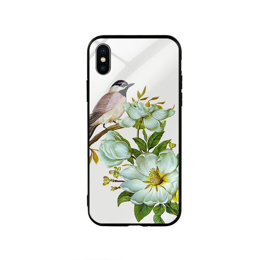 Ốp lưng kính cường lực cho điện thoại Iphone X / Xs - Spring 03