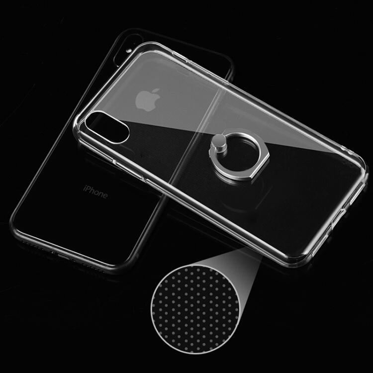 Ốp Lưng Có Giá Đỡ Nhẫn Cho Iphone X Paizi