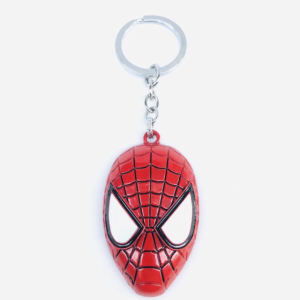 Móc Khóa Mặt Nạ Người Nhện Spider Man Hili HL200112
