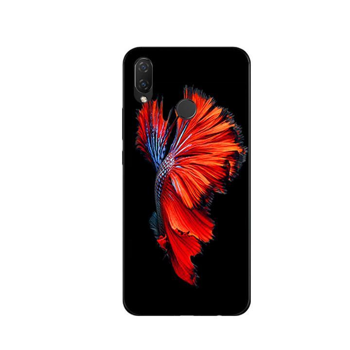 Ốp Lưng Dẻo Cho Điện thoại Huawei Nova 3i - Fish 01