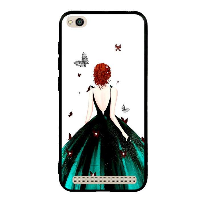 Ốp lưng viền TPU cho điện thoại Xiaomi Redmi 5A - Girl 09