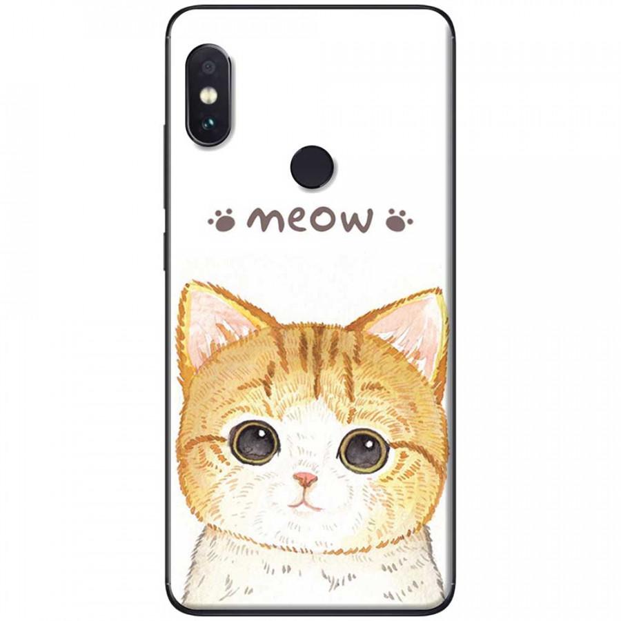 Ốp lưng dành cho Xiaomi Redmi Note 6 mẫu Meow