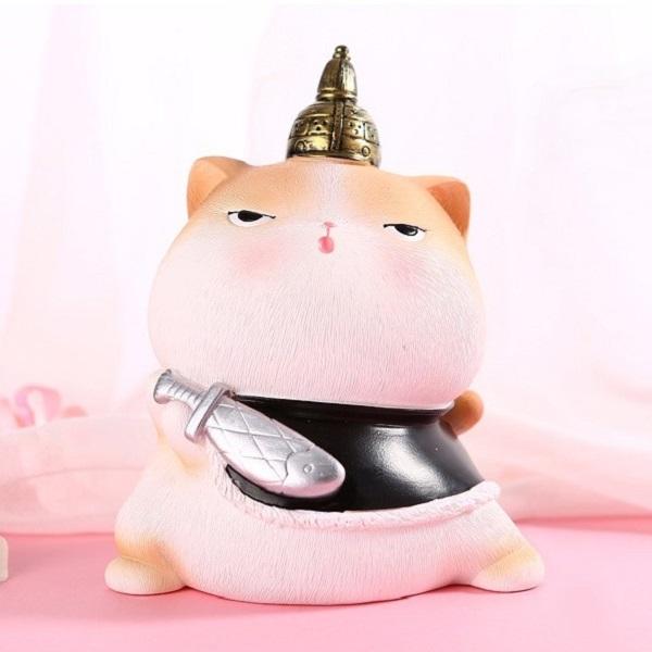 Tượng Mèo Hoàng Thượng Hoàng Hậu