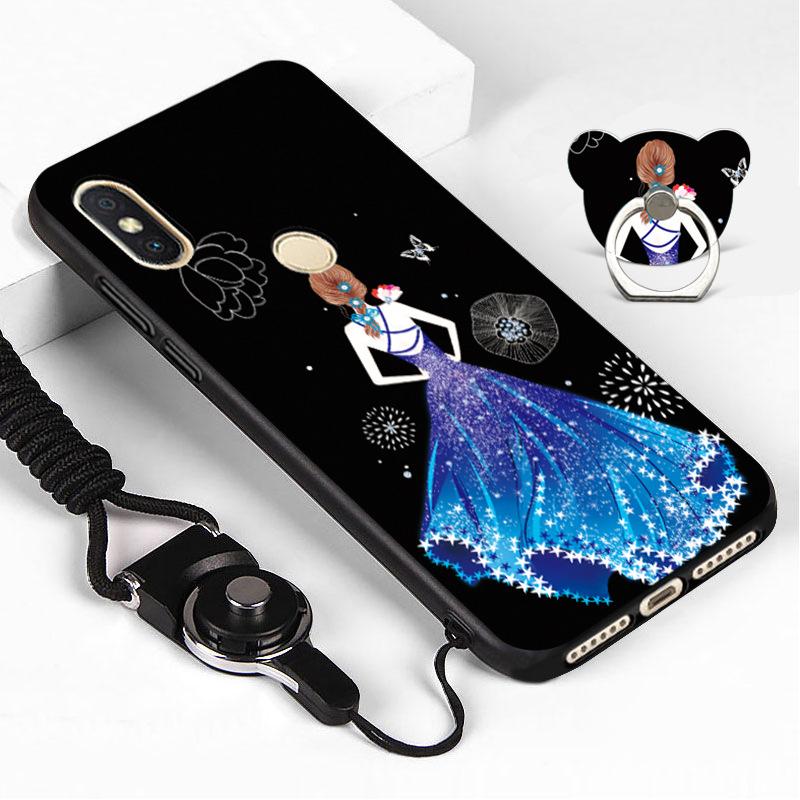 Ốp lưng cho Xiaomi Redmi Note 6 Pro / Note 6 Hình 3D NEW nhựa TPU dẻo - Kèm Dây + iRing - 1333751 , 1555998515573 , 62_8039247 , 140000 , Op-lung-cho-Xiaomi-Redmi-Note-6-Pro--Note-6-Hinh-3D-NEW-nhua-TPU-deo-Kem-Day-iRing-62_8039247 , tiki.vn , Ốp lưng cho Xiaomi Redmi Note 6 Pro / Note 6 Hình 3D NEW nhựa TPU dẻo - Kèm Dây + iRing