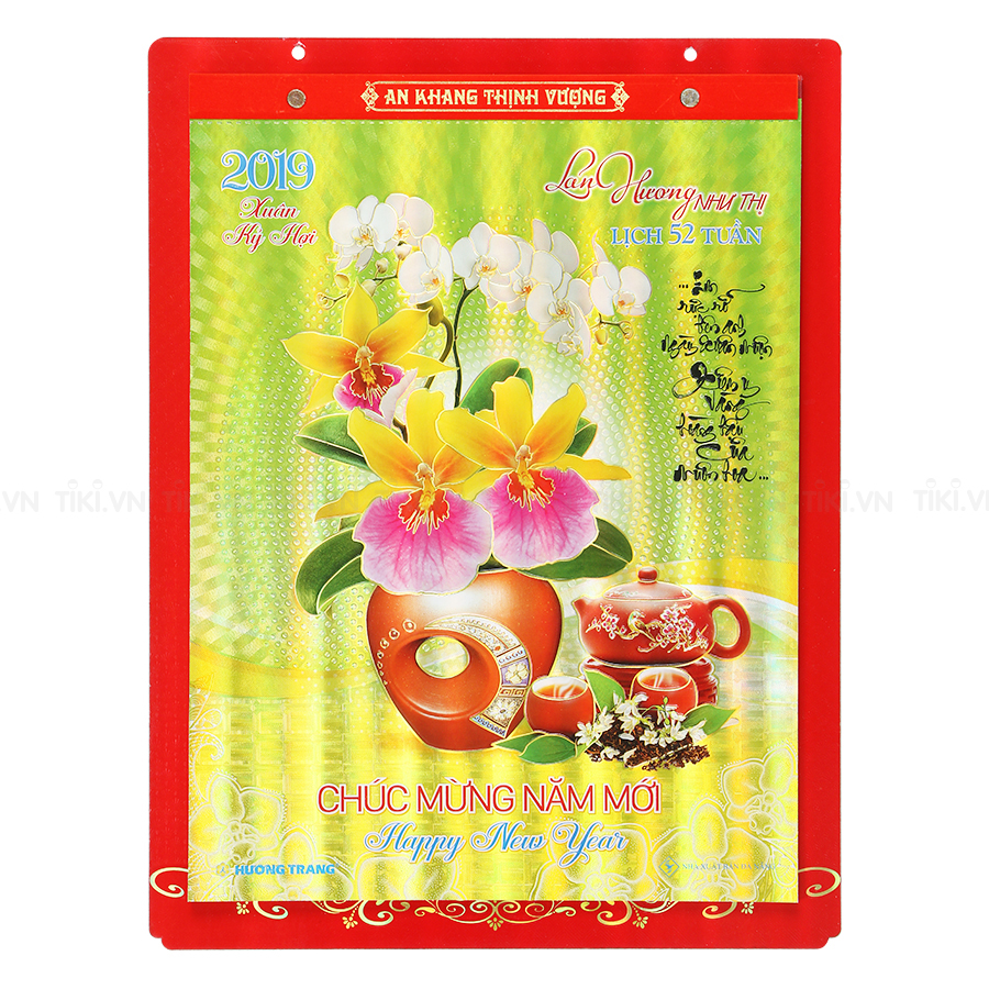 Lịch Bloc 52 Tuần Lan Hương Như Thị HT 21 (31.5 x 42 cm)