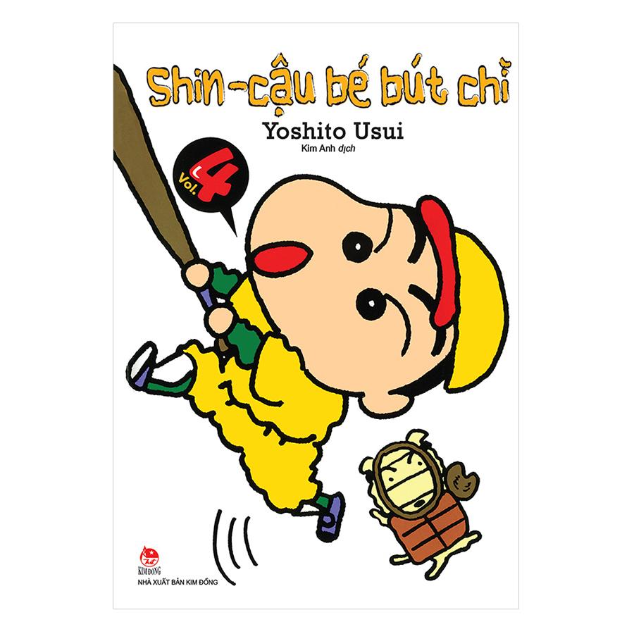 Shin - Cậu Bé Bút Chì Tập 4 (Tái Bản 2019)