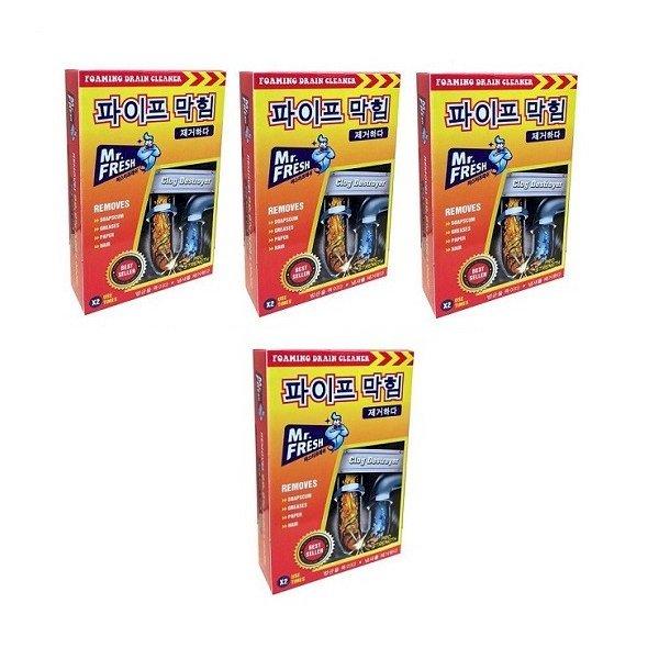 Combo 4 hộp 8 gói bột thông tắc làm sạch đường ống Mr. Fresh Hàn Quốc (100g/gói) - 1153767 , 2516778887166 , 62_4540845 , 240000 , Combo-4-hop-8-goi-bot-thong-tac-lam-sach-duong-ong-Mr.-Fresh-Han-Quoc-100g-goi-62_4540845 , tiki.vn , Combo 4 hộp 8 gói bột thông tắc làm sạch đường ống Mr. Fresh Hàn Quốc (100g/gói)