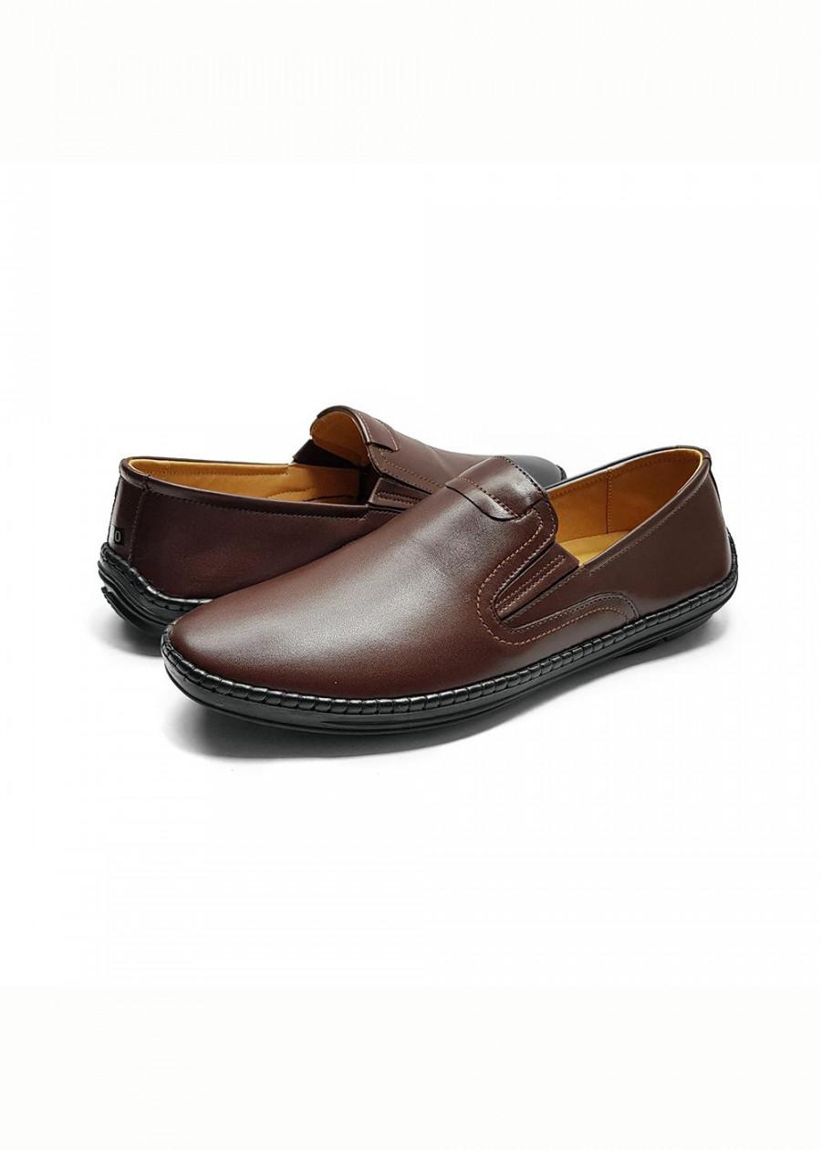 Giày lười nam cao cấp đẹp đế cao su đúc thời trang da bò thật GL-08 màu nâu - 2314399 , 5033151922155 , 62_14903980 , 579000 , Giay-luoi-nam-cao-cap-dep-de-cao-su-duc-thoi-trang-da-bo-that-GL-08-mau-nau-62_14903980 , tiki.vn , Giày lười nam cao cấp đẹp đế cao su đúc thời trang da bò thật GL-08 màu nâu