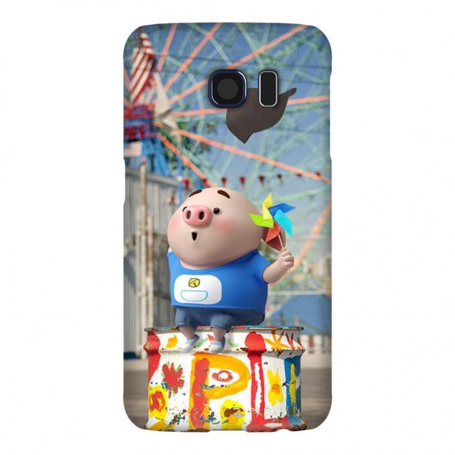 Ốp Lưng Cho Điện Thoại Samsung Galaxy S6 - Mẫu heocon 76