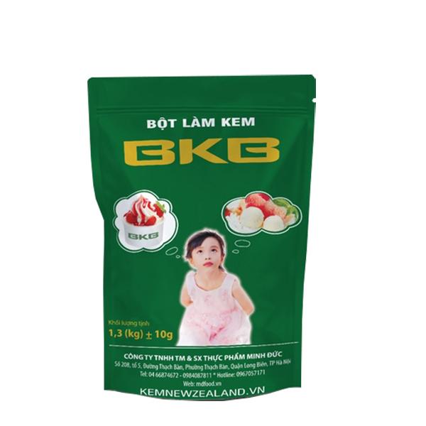 Bột Làm Kem BKB Hương Sầu Riêng gói 1.3kg