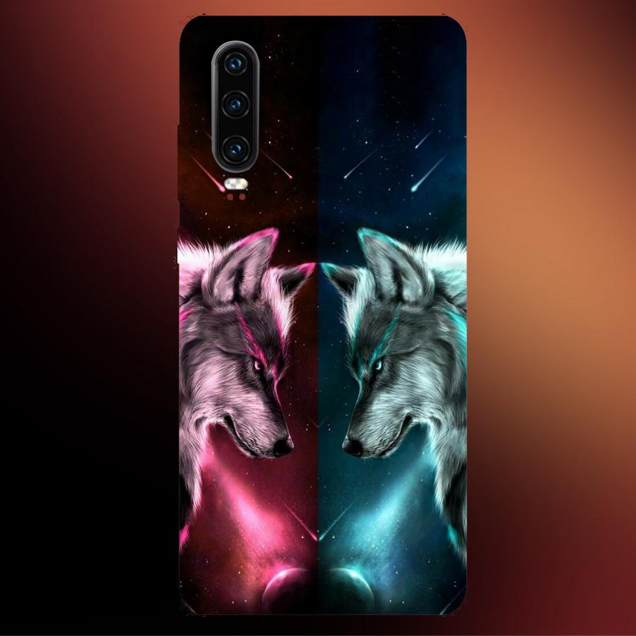 Ốp Lưng Dành Cho Máy Huawei P30-Ốp Dẻo Cao Cấp In hình Sói Tuyết,Mẫu ốp mới Cao Cấp, Siêu đẹp,Siêu Hot