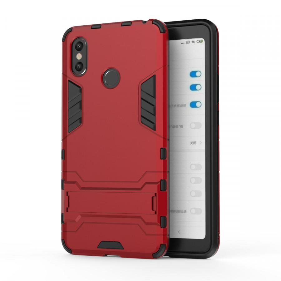 Ốp Lưng Cho Xiaomi Mi Max 3 iRON - MAN Nhựa PC Cứng Viền Dẻo Chống Sốc