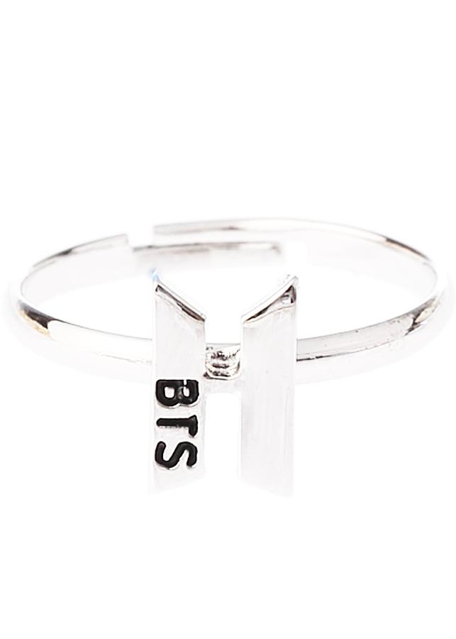 Nhẫn BTS logo nổi