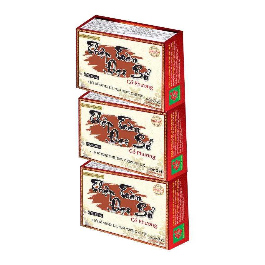 Combo 3 hộp Thập toàn đại bổ Cổ Phương bồi bổ nguyên khí, tăng cường sinh lực - 792987 , 8879125472373 , 62_12914847 , 324000 , Combo-3-hop-Thap-toan-dai-bo-Co-Phuong-boi-bo-nguyen-khi-tang-cuong-sinh-luc-62_12914847 , tiki.vn , Combo 3 hộp Thập toàn đại bổ Cổ Phương bồi bổ nguyên khí, tăng cường sinh lực