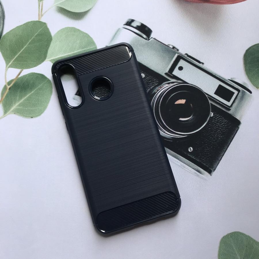 Ốp lưng chống sốc dành cho Huawei P30 Lite Vân Sợi Carbon