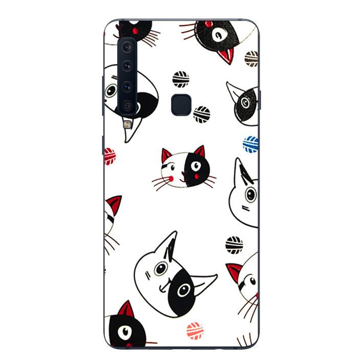 Ốp lưng Dẻo Cho Samsung Galaxy A9 2018 - Kute Cat 02