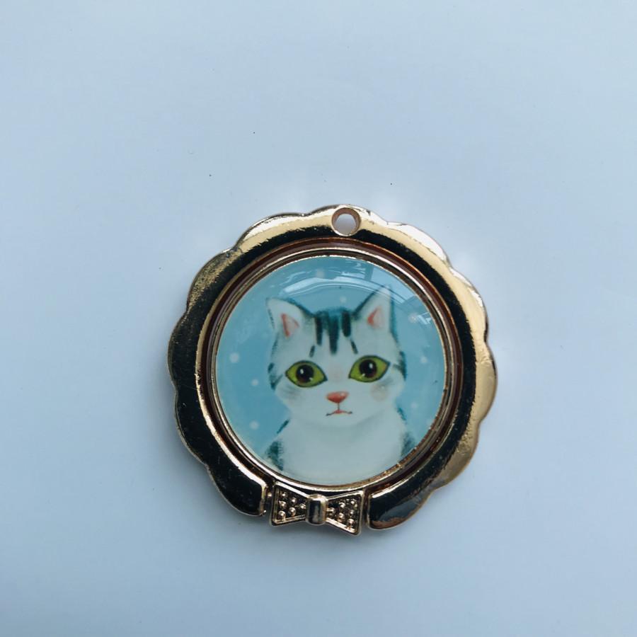 Iring dán đỡ điện thoại Mèo - 9579685 , 2412678122997 , 62_16275720 , 27000 , Iring-dan-do-dien-thoai-Meo-62_16275720 , tiki.vn , Iring dán đỡ điện thoại Mèo