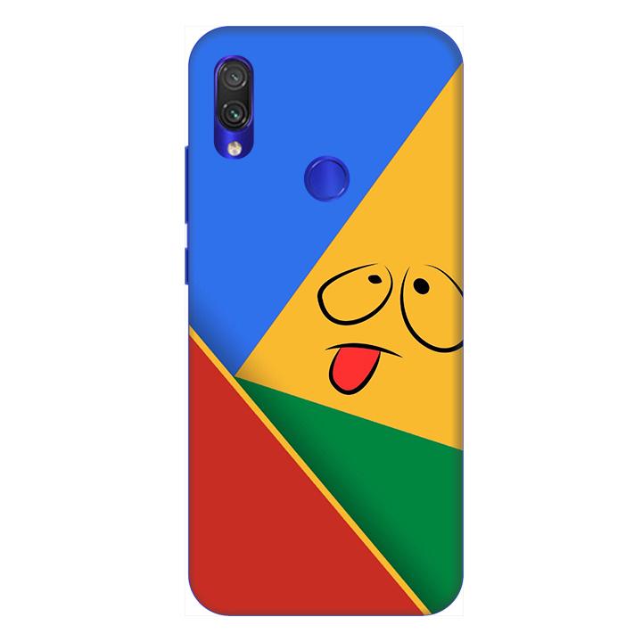 Ốp lưng dành cho điện thoại Xiaomi Redmi Note 7 hình Mặt Người Mẫu 2 - Hàng chính hãng