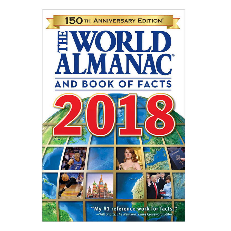 World Almanac For Adults 2018