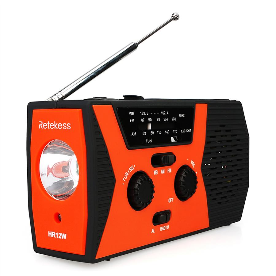 Retekess HR12W FM AM WB Digital Radio Outdoor Multi-band Radio Solar Hand-crank Emergency Power Bank SOS Alarm with LED - 1843570 , 9265527150411 , 62_13912409 , 851000 , Retekess-HR12W-FM-AM-WB-Digital-Radio-Outdoor-Multi-band-Radio-Solar-Hand-crank-Emergency-Power-Bank-SOS-Alarm-with-LED-62_13912409 , tiki.vn , Retekess HR12W FM AM WB Digital Radio Outdoor Multi-band
