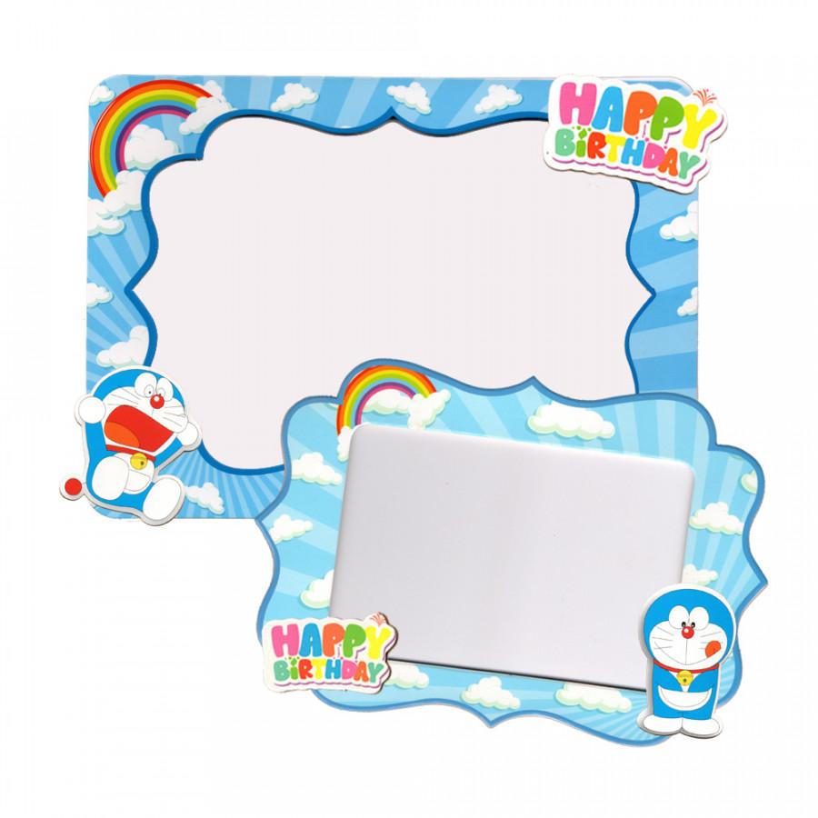 2 khung hình giấy để bàn trang trí sinh nhật - doremon