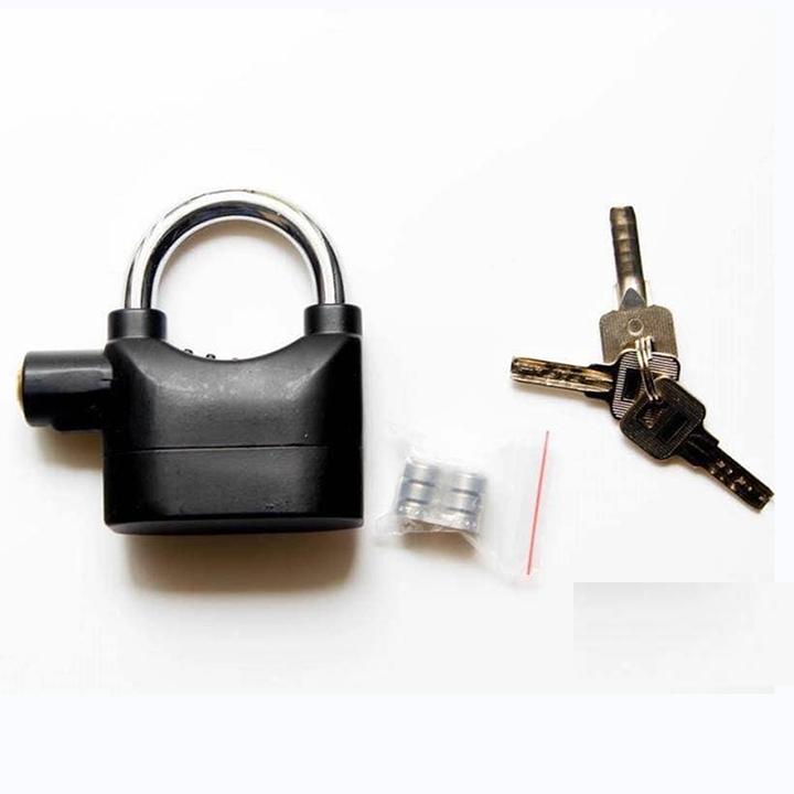 Khóa chống trộm có còi báo động - 774143 , 6198017197777 , 62_10769662 , 198000 , Khoa-chong-trom-co-coi-bao-dong-62_10769662 , tiki.vn , Khóa chống trộm có còi báo động