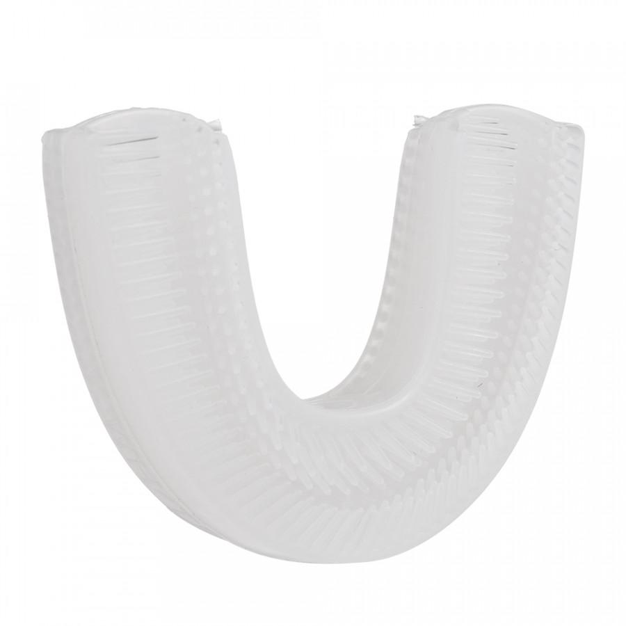 Đầu Bàn Chải Đánh Răng Điện Silicon Hình Chữ U V-WHITE