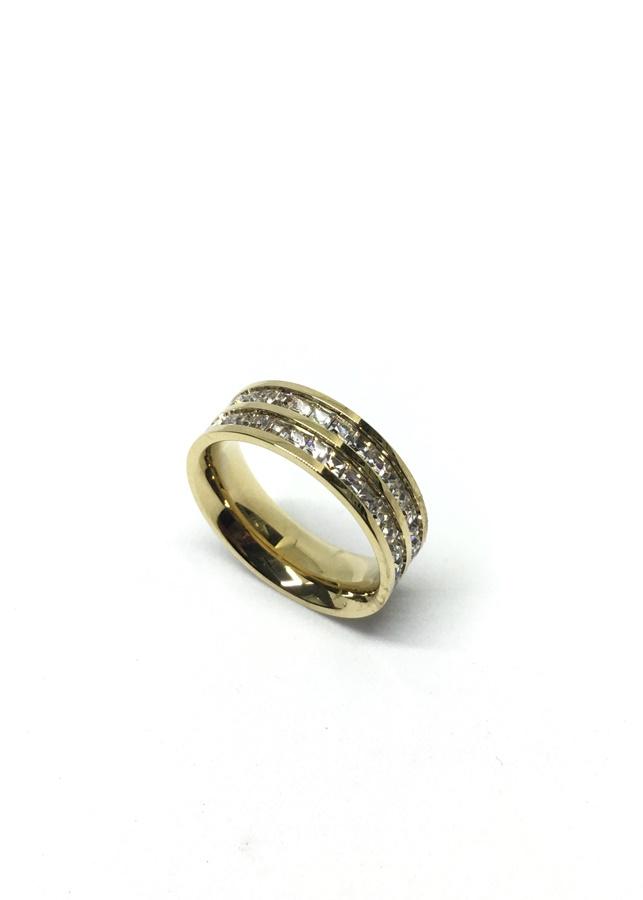 Nhẫn titan 2 hàng xoàn - 2331537 , 3384137912724 , 62_15121626 , 160000 , Nhan-titan-2-hang-xoan-62_15121626 , tiki.vn , Nhẫn titan 2 hàng xoàn