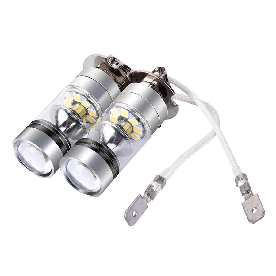 Fog Lamp LED Fog Light Super Bright 12/24V H3 Car Headlamp - 790603 , 5265130865331 , 62_12444995 , 438000 , Fog-Lamp-LED-Fog-Light-Super-Bright-12-24V-H3-Car-Headlamp-62_12444995 , tiki.vn , Fog Lamp LED Fog Light Super Bright 12/24V H3 Car Headlamp